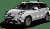 Fiat 500L ou équivalent, Hervorragendes Angebot Aosta