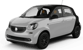 Smart Forfour, Cheapest offer Region of Southern Denmark