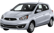 Mitsubishi Mirage, Excellent offer Minneapolis–Saint Paul International Airport