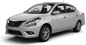Nissan Versa, Excellent offer Flughafen Ushuaia