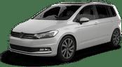 Volkswagen Touran, Alles inclusief aanbieding Luchthaven Dortmund