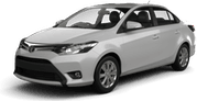 Toyota Yaris Sedan, Excelente oferta Inch Marlow/South Point - Flughafen