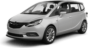 Opel Zafira, Alles inclusief aanbieding Luchthaven Pamplona