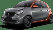 Smart ForFour, Gutes Angebot Mallorca ohne Kreditkarte