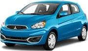 MITSUBISHI MIRAGE, good offer San Jose International Airport