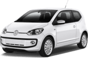 VW Up, Beste aanbieding Luchthaven Düsseldorf International