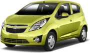 Chevrolet Spark, Goedkope aanbieding Sacramento International Airport
