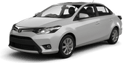 Toyota Yaris Sedan o similar, good offer Cancún International Airport