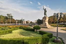 Stefan cel Mare Statue in Moldawien