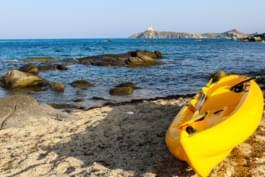 Kajak in Sardinien