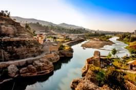 Beautiful landscape in Iraq