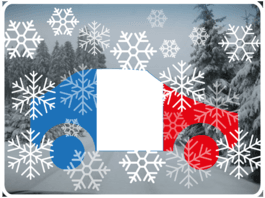 Winter Auto Frankreich