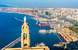 View over Oran, Algeria