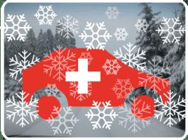 Winter Auto Schweiz