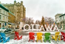 Unterwegs in Ottawa, Kanada