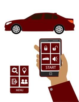 Smart-Car Fernbedienung für's Auto