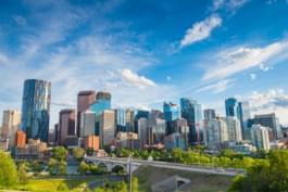 vue sur la ville de Calgary