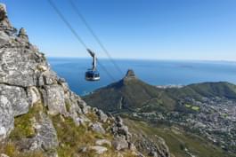 Funivia per Table Mountain a Città del Capo, Sudafrica