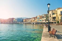 Promenade in Kreta