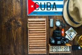 Kuba Zigarren und Kamera
