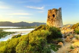 Aragon-Turm von Isola Rossa