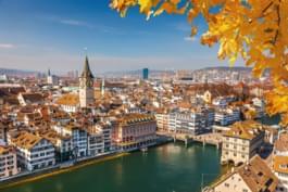 Centro de la ciudad de Zurich
