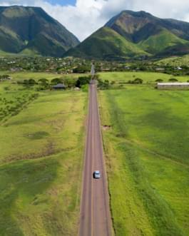 Straße nach Maui