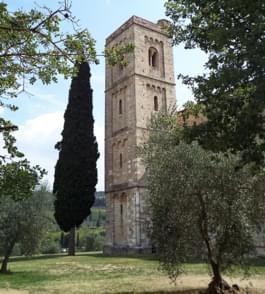 Abtei Sant'Antimo Toskana Italien