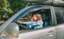 Müdigkeit im Auto