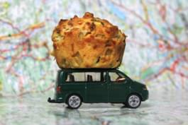 Muffin für unterwegs