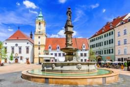 Go for a walk in Bratislava, Slovakia