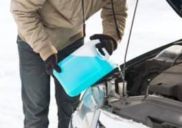 Frostschutzkanister Winter Auto