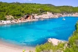 Puerto de San Muquel en Ibiza