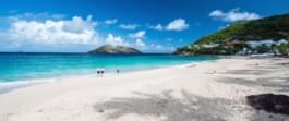 Strand in St. Barth