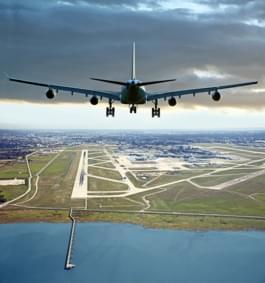 atterissage avion vancouver colombie britannique
