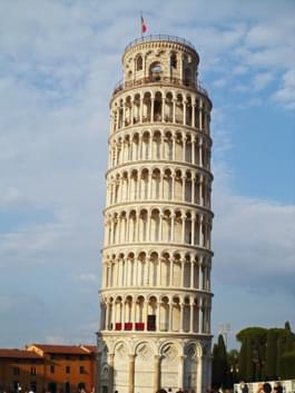 Schiefer Turm von Pisa Italien