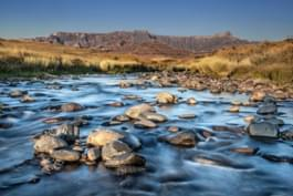 Drakensberge in KwaZulu-Natal, Südafrika