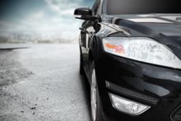 Autofarbe Schwarz