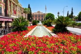 Square in Murcia
