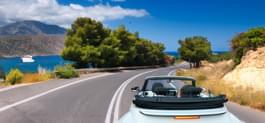 Mit dem Cabrio Kreta entdecken