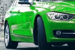 Autofarbe Grün