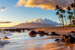 Maui Bucht Sonnenuntergang