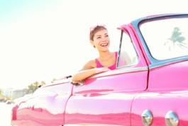 Autofarbe Rosa