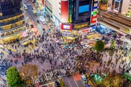 Attraversamento a Tokyo