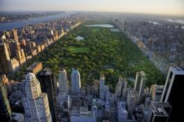 vue sur central Park Manhattan New York