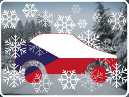 Winter Auto Tschechien