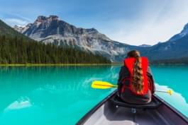 Canada kayak lac
