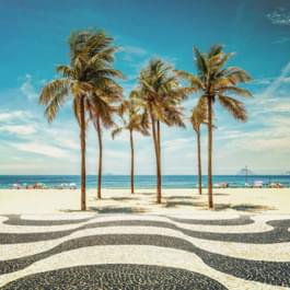 Visit the famous Copacabana in Brazil