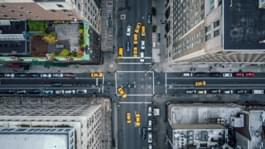 Straßen New York