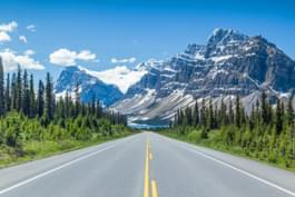 Parkway dei campi di ghiaccio